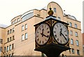 J3373 : Ornamental clock, Belfast by Albert Bridge