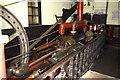 NN9512 : Mill engine, Glenruthven Mill by Chris Allen