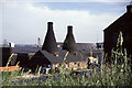 SJ8744 : Portmeirion bottle ovens. by Chris Allen