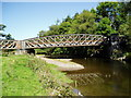 SO0790 : River Severn, Penstrowed railway bridge by kevin skidmore