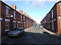 SJ4266 : Terraced Houses in Cherry Road, Boughton by BrianP: Week 4