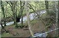 SH3436 : Afon Rhyd-hir above Pont Bodfel by Eric Jones