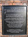 SJ3966 : Plaque commemorating LTC Rolt by John S Turner
