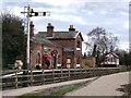 SJ3377 : Hadlow Road Station, Willaston by BrianPritchard