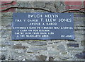 SN3938 : Bwlch Melyn Plaque by Marion Phillips