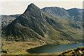 SH6660 : The north side of Tryfan by Nigel Brown
