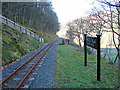 SN7078 : Rheidol Falls Station, Vale of Rheidol Railway by John Lucas