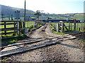 SN6380 : Track across the railway by John Lucas