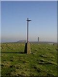 T3392 : Brides Hill Triangulation Pillar. by David Quinn
