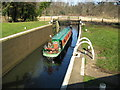 TQ0152 : River Wey Navigation: Bowers Lock by Nigel Cox: Week 7