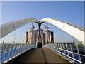 SJ8097 : The Lowry footbridge : Week 7