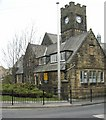 SE1646 : Queen's Hall, Main Street, Burley in Wharfedale by Humphrey Bolton