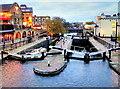TQ2884 : Hampstead Road Lock, Camden Town. by Stephen Elwyn RODDICK