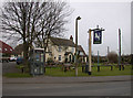 TL4155 : The White Horse, Barton by Keith Edkins