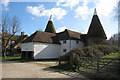 TQ8333 : Unconverted Oast House at Maplesden Farm, Stepneyford Lane, Benenden, Kent by Oast House Archive