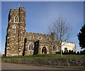 TL0535 : St. John the Baptist, Flitton by Rob Farrow