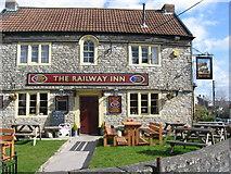 ST6259 : The Railway Inn Clutton by Dr Duncan Pepper