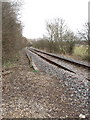 SU8787 : Marlow to Maidenhead single track railway by David Hawgood