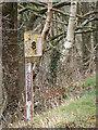 SN6979 : Vale of Rheidol Railway Milepost by John Lucas