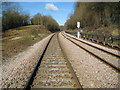 SU9598 : Amersham: Railway line towards Great Missenden by Nigel Cox