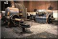 SJ6799 : Steam engine, Leigh Spinners. by Chris Allen