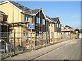 SU6605 : New homes on the site of the former United Reformed Church by Basher Eyre