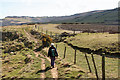 NZ9603 : The Cleveland Way towards Ravenscar by Peter Church