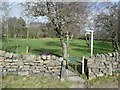 SE1441 : Camping field, Sconce, Bingley by Humphrey Bolton