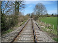 SP7702 : Chinnor and Princes Risborough Railway in Bledlow (2) by Nigel Cox