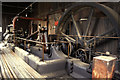 SE2410 : Steam engine, Nortonthorpe Mills, Scissett by Chris Allen