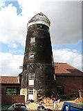 TG2417 : Frettenham towermill conversion by Evelyn Simak