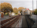 SH5938 : Minffordd Station by John Lucas