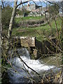 SO6693 : Weir on the Mor Brook by Row17