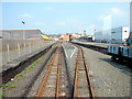 SN5881 : Departing from Aberystwyth station by John Lucas