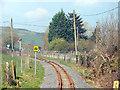 SN6579 : Leaving Capel Bangor by John Lucas