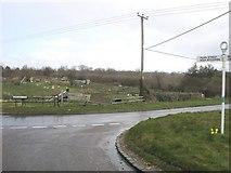 SU9395 : Whielden Road junction by Shaun Ferguson