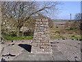 NO5048 : Battle of Dunnichen Hill memorial cairn by Euan Nelson