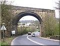 SE1426 : Bridge BRB-BHS 03 - Leeds Road, Wyke by Betty Longbottom