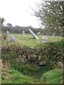 SW4127 : Stile in the Cornish hedge surrounding Boscawen-un stone circle by Rod Allday