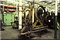 SJ9174 : Steam engine, Lower Heys Mill by Chris Allen