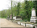 TQ3575 : Monuments in Nunhead cemetery by Stephen Craven