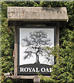 SK9894 : The Sign of the Royal Oak by David Wright