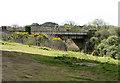 SW5436 : Railway Bridge, Hayle by Pauline E