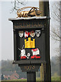TG1638 : Village sign by Evelyn Simak