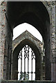 NT5434 : Melrose Abbey by Walter Baxter