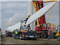 SD8218 : Preparing Turbine Blade for Lifting by Paul Anderson