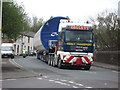 SD7920 : Turbine Delivery Passing Through Ewood Bridge by Paul Anderson