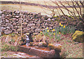 SE0659 : Cattle trough at Howgill by Stephen Craven