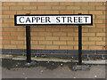SJ8651 : Capper Street sign by Ian Capper