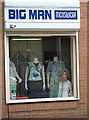 SE3406 : A boutique for big blokes in Barnsley by michael ely